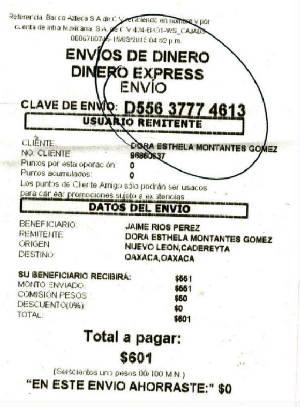Envios de dinero a mexico por elektra creditogefor for Oficinas western union madrid